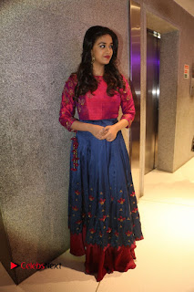 Actress Keerthi Suresh Stills at Remo Success Meet  0167.JPG