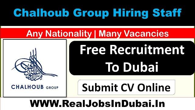 Chalhoub Group Careers Jobs In Dubai – UAE