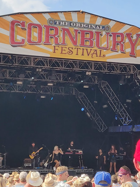 Stage at Cornbury Festival