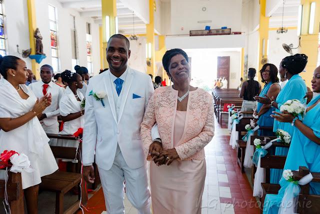 mariage Petit-Bourg Guadeloupe église