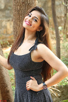 Aswini in lovely Deep Neck Sleeveless Black Dress Spicy Pics ~  Exclusive 39.JPG