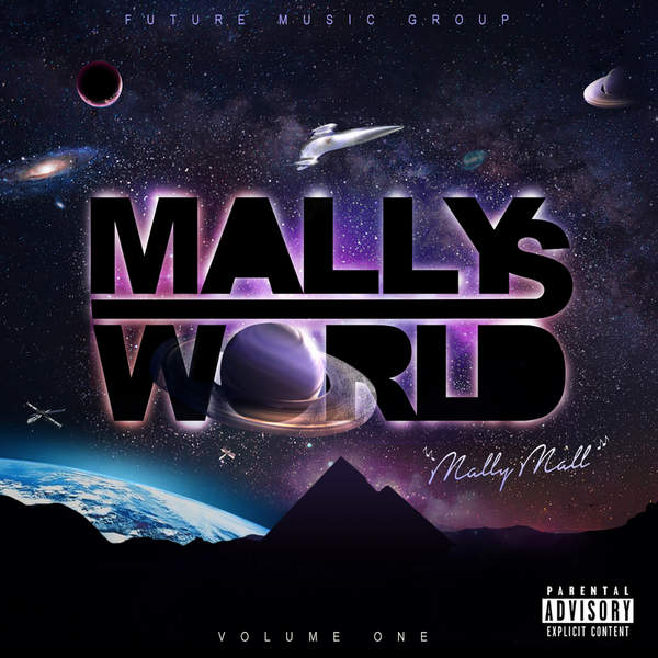 Mally Mall - Mally's World, Vol. 1 Cover