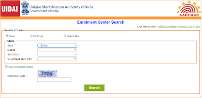 Aadhar Card Online Registration