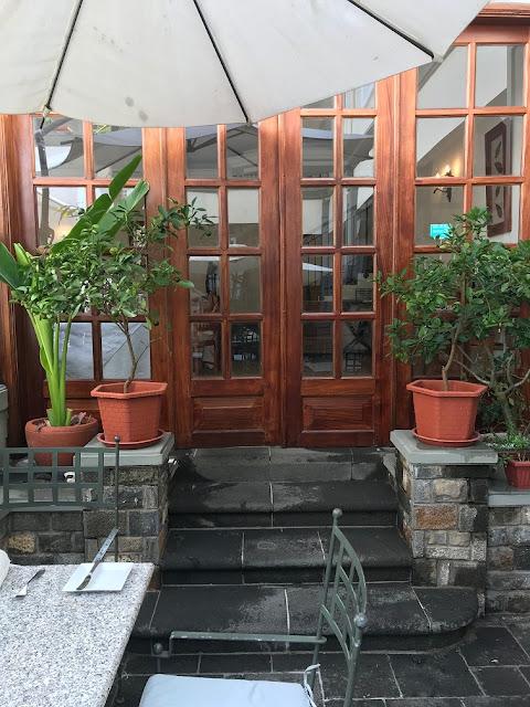 Le Courtyard Restaurant, Mauritius