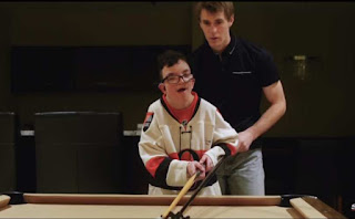 NHL player Kyle Turris and Christian Ouimet