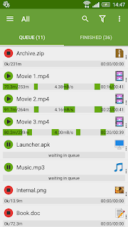 advanceddownload manager for android