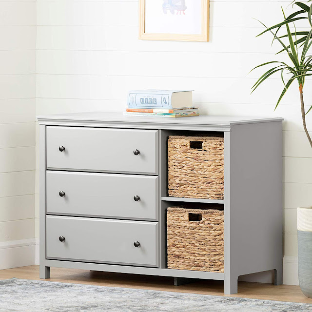 nursery dresser that grows with child