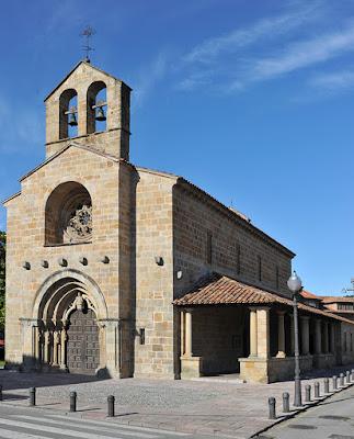 Villaviciosa, Santa María de la Oliva