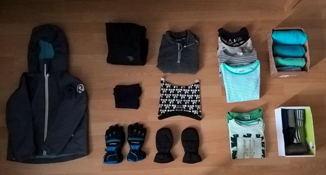 paljonko 7-vuotias tarvitsee vaatteita?