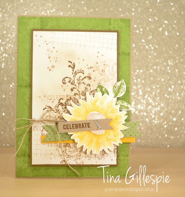 scissorspapercard, Stampin' Up!, Art With Heart, Timeless Textures, Painted Harvest, Thoughtful Banners