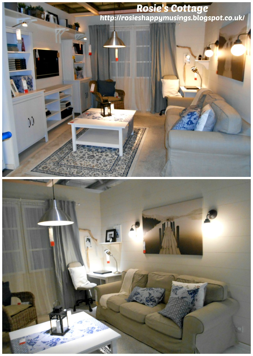 Beautifully organizing living room