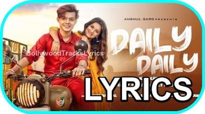 Daily-Daily-Lyrics-Neha-Kakkar-Latest-Song-2020