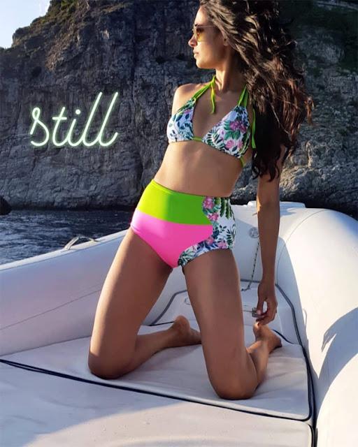 Bollywood Actress Sarah Jane Dias Latest Bikini Photos Navel Queens