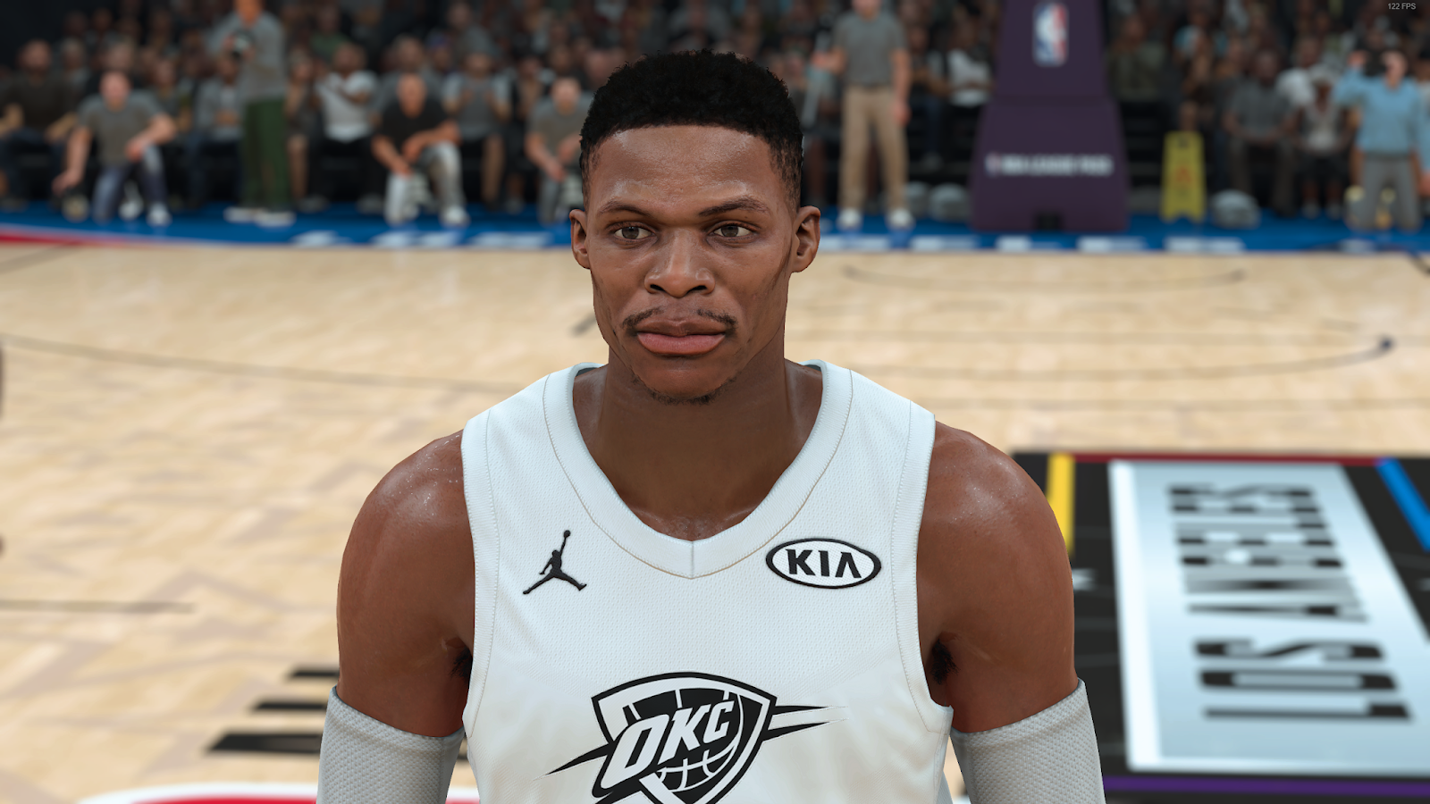 NBA 2K18 Russell Westbrook Cyberface by MRK326 RELEASED