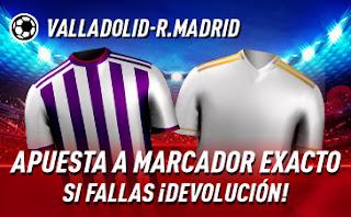sportium promocion Valladolid vs Real Madrid 26 enero 2020
