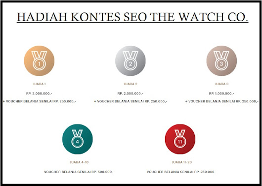 KONTES SEO THE WATCH CO.
