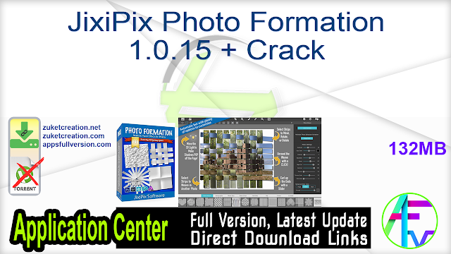 JixiPix Photo Formation 1.0.15 + Crack