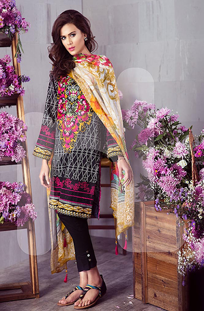 Nishat Summer Sparkling Assortment Lawn 2016 www.fashionwearstyle.com