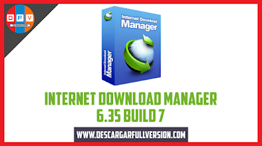 Descargar Internet Donwload Manager 6.35 Build 7 Full Version
