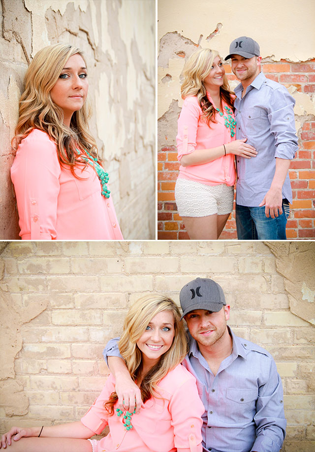 Houston Wedding Photographer, Houston Engagement Photographer, Downtown Engagement Session