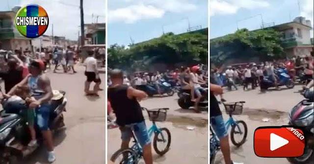 DÍAZ CANEL COBARDE | Régimen Cubano militarizó las calles para evitar manifestaciones populares