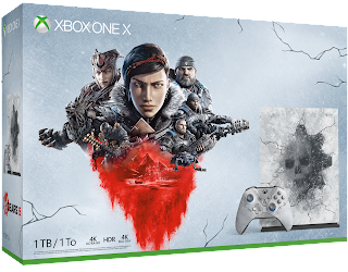Microsoft Xbox One X 1TB Console - Gears 5 Limited Edition Bundle