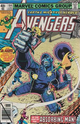 Avengers #184, Absorbing Man