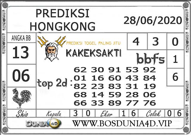Prediksi Togel HONGKONG DUNIA4D 28 JUNI 2020