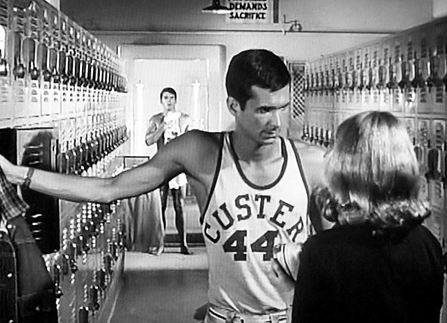 Basketball Locker Room Scene