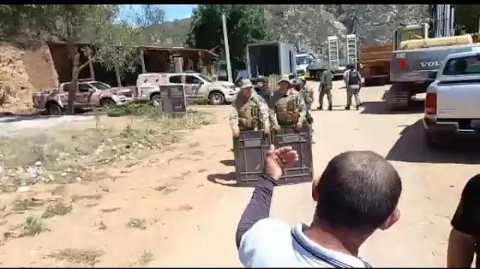 [VÍDEOS] DEMOLIÇÃO DOS BARRACOS NO BALNEÁRIO CRUZ CAUSA REVOLTA EM DELMIRO GOUVEIA