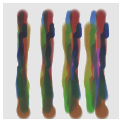 Example of a painting code using the Perlin noise.
