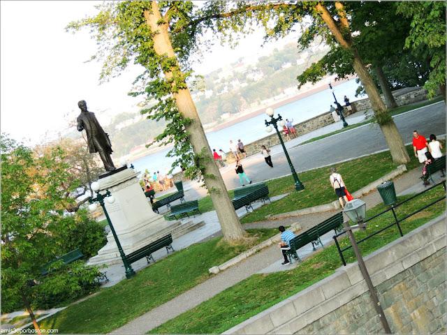 Parc Montmorency en la Ciudad de Quebec