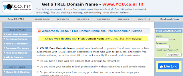 program domain gratis freedomainpro