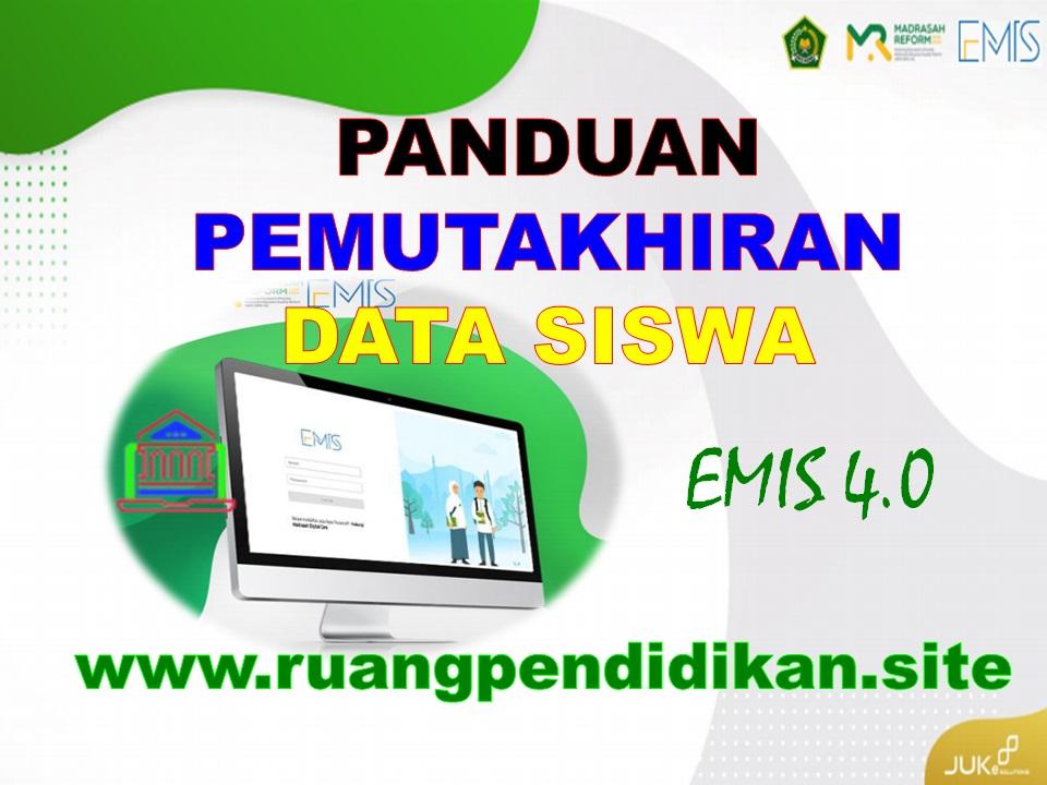 Pemutakhiran Data Siswa emis 4.0