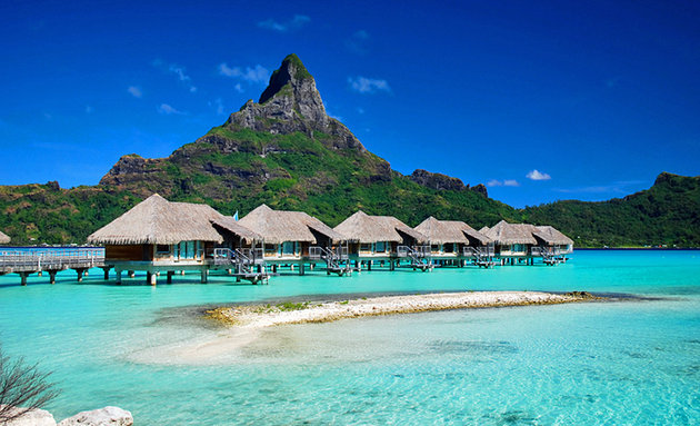 15 best tropical vacations in the world most beautiful for Best vacation spots in march