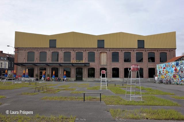 Texture | o museu do Lys e do linho, Kortrijk