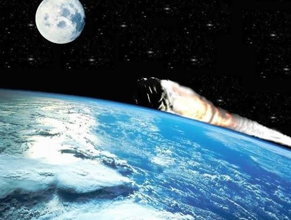 Asteroide pasara entre la luna y la tierra.
