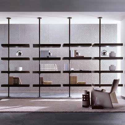 muebles de dise o moderno y decoracion de interiores estanter a domino de porada en europa20. Black Bedroom Furniture Sets. Home Design Ideas