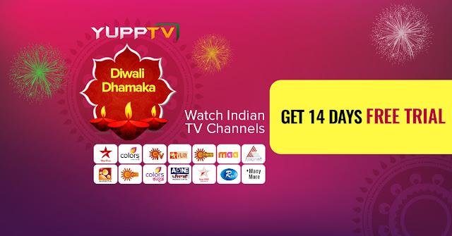 YuppTV Diwali Offers