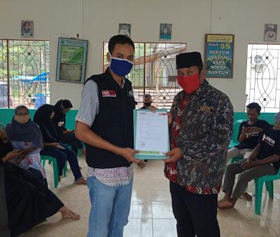 MRI Lampung Selatan Bagikan Bahan Makanan