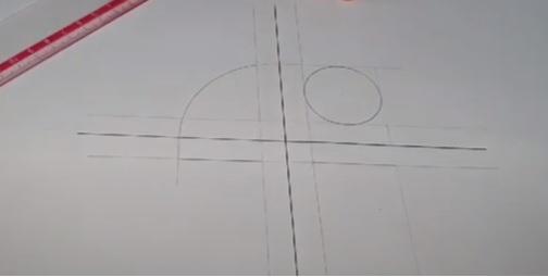 رسم المنظور الهندسي للدائرة الإلكتروينة