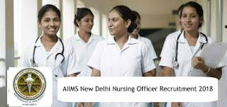 AIIMS Recruitment 2018 Apply Online.Last Date :- 29/10/2018,aiims job.aiims nursing job.aiims recruitment
