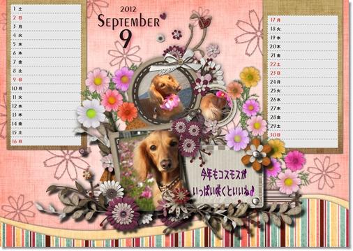 DSB Calendar 9月
