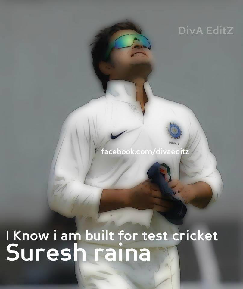 Suresh Raina: Suresh Raina: The Man Who Born To Win!
