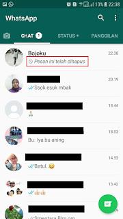 cara membaca pesan whatsapp yang sudah dihapus