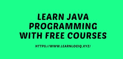 JAVA Programming Free Tutorial 2020