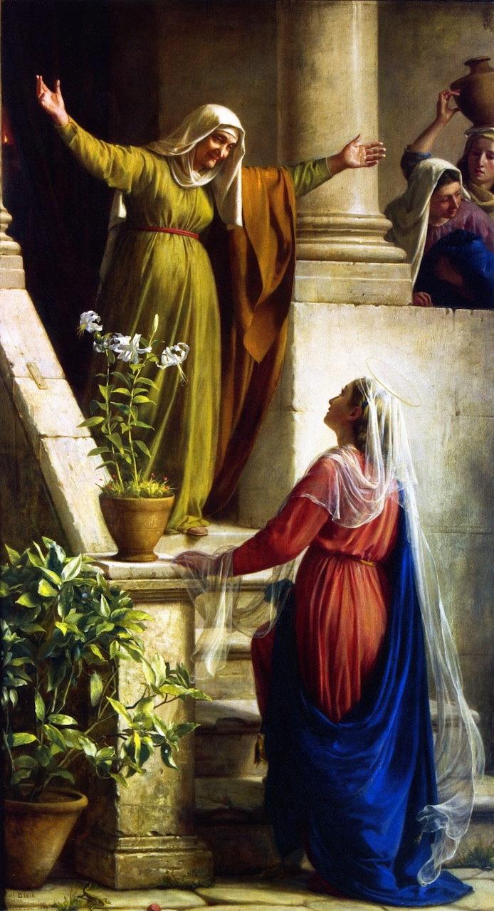 Resultado de imagem para Nossa Senhora da Visitação