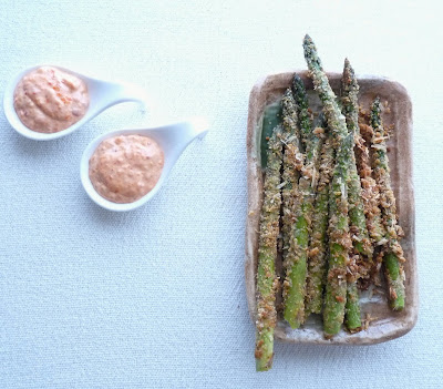 Roasted Asparagus with Parmesan Crumbs