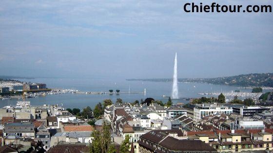 Geneva, beautiful places in Switzerland: