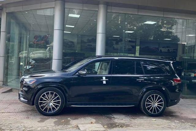 Mercedes-Benz GLS 580 nhập khẩu tư nhân đầu tiên về Việt Nam